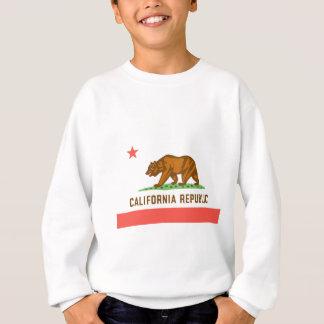 カリフォルニア公式の州の旗 スウェットシャツ