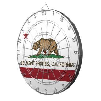カリフォルニア共和国くまの旗のBelmontの海岸 ダーツボード