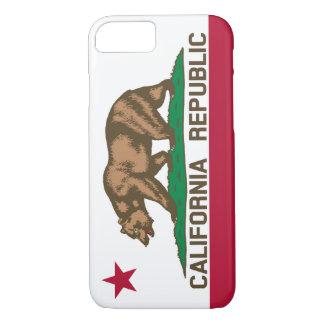 カリフォルニア共和国くまの旗 iPhone 8/7ケース