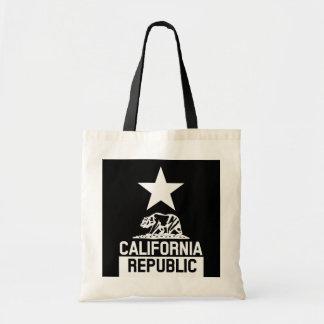 カリフォルニア共和国の州の旗 トートバッグ