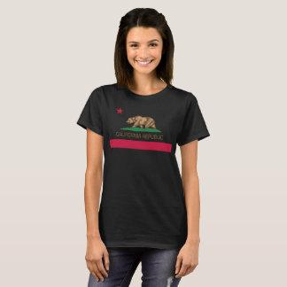 カリフォルニア共和国の州の旗 Tシャツ