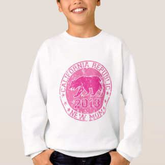 カリフォルニア共和国の新しいお母さんのピンク2013.png スウェットシャツ