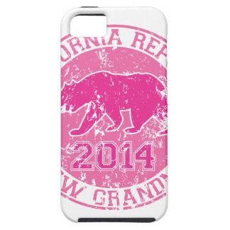 カリフォルニア共和国の新しい祖母のピンク2014年 iPhone SE/5/5s ケース