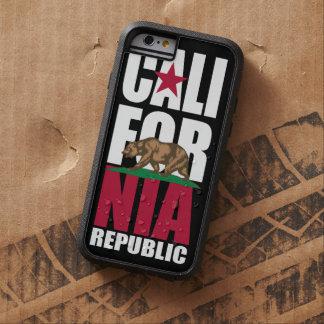 カリフォルニア共和国の旗のスタッカー TOUGH XTREME iPhone 6 ケース