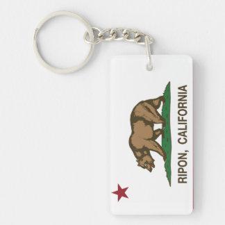カリフォルニア共和国の旗Ripon キーホルダー