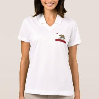 カリフォルニア共和国の旗Ripon ポロシャツ
