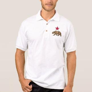 カリフォルニア共和国のCaliくまのポロシャツ ポロシャツ