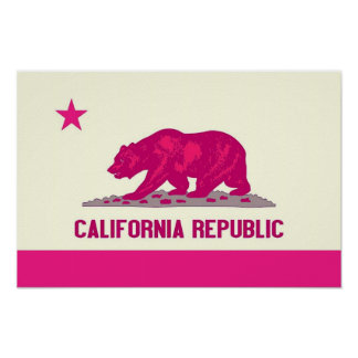 カリフォルニア共和国 ポスター