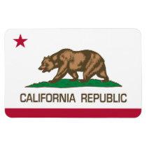 カリフォルニア共和国(州の旗) 長方形マグネット