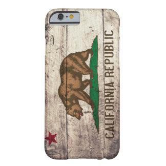 カリフォルニア古い木旗 BARELY THERE iPhone 6 ケース