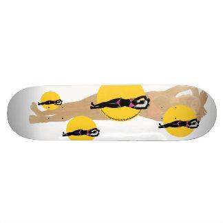 カリフォルニア女の子のスケートボード- Courtneyのロゴ スケートボード