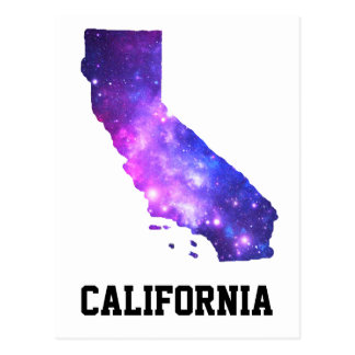 カリフォルニア女の子の銀河系 ポストカード