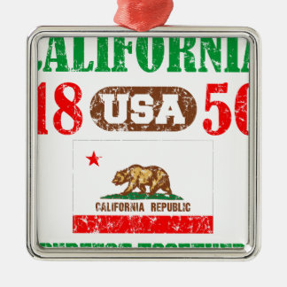 カリフォルニア完全な一緒に動揺してなプロダクト メタルオーナメント