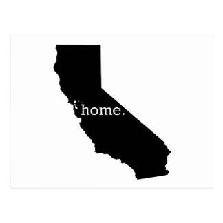 カリフォルニア家 ポストカード