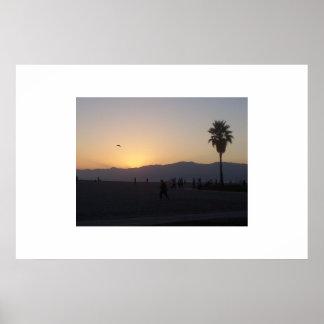 カリフォルニア山 ポスター