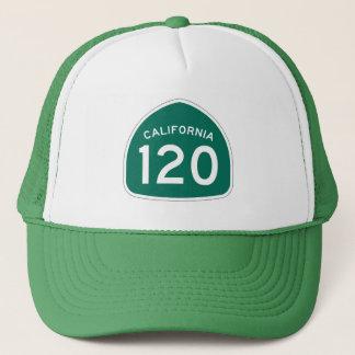 カリフォルニア州のルート120 キャップ