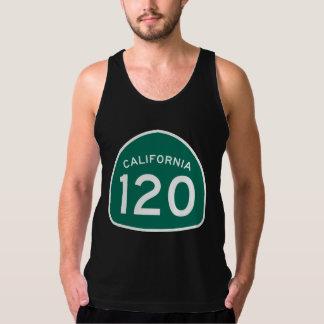 カリフォルニア州のルート120 タンクトップ