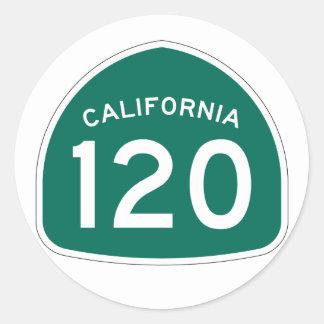 カリフォルニア州のルート120 ラウンドシール