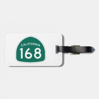 カリフォルニア州のルート168 ラゲッジタグ
