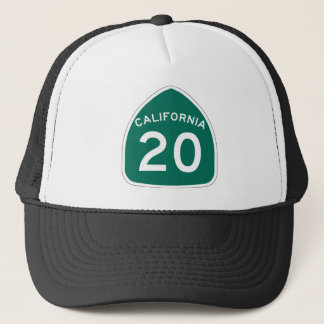 カリフォルニア州のルート20 キャップ