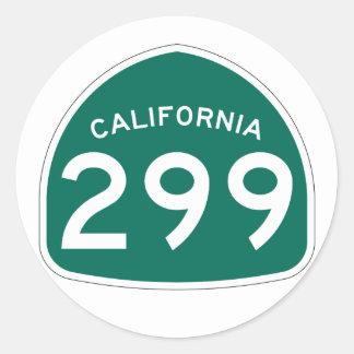 カリフォルニア州のルート299 ラウンドシール