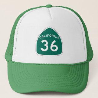 カリフォルニア州のルート36 キャップ
