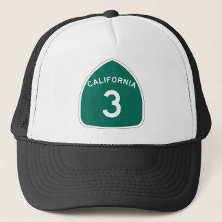 カリフォルニア州のルート3 キャップ