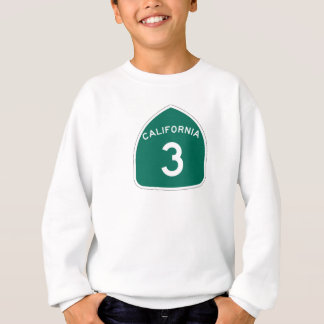 カリフォルニア州のルート3 スウェットシャツ