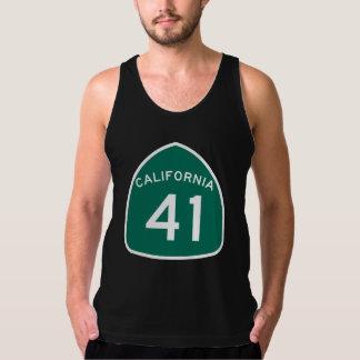 カリフォルニア州のルート41 タンクトップ