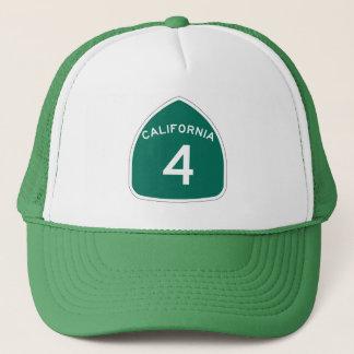 カリフォルニア州のルート4 キャップ
