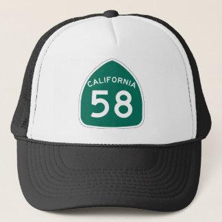 カリフォルニア州のルート58 キャップ