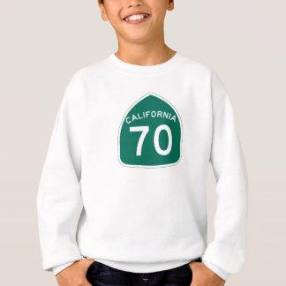 カリフォルニア州のルート70 スウェットシャツ