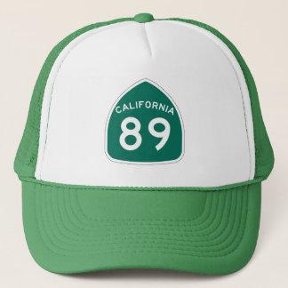 カリフォルニア州のルート89 キャップ