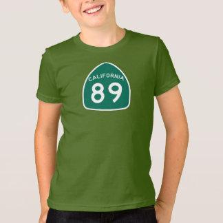 カリフォルニア州のルート89 Tシャツ