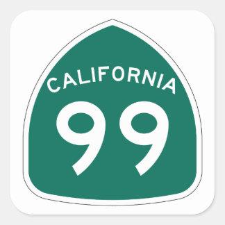 カリフォルニア州のルート99 スクエアシール