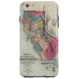 カリフォルニア州の公式の地図 TOUGH iPhone 6 PLUS ケース