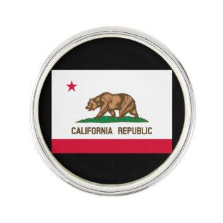 カリフォルニア州の旗のデザインの装飾 ラペルピン