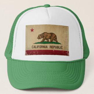 カリフォルニア州の旗のヴィンテージ キャップ