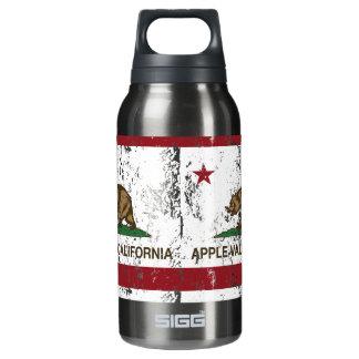 カリフォルニア州の旗のAppleの谷 断熱ウォーターボトル