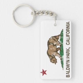 カリフォルニア州の旗のBaldwin公園 キーホルダー
