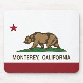カリフォルニア州の旗モンテレー マウスパッド
