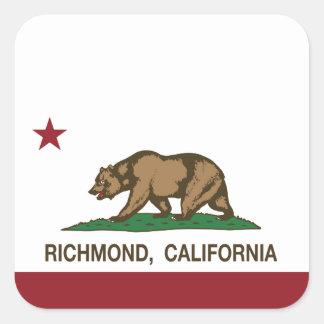 カリフォルニア州の旗リッチモンド スクエアシール
