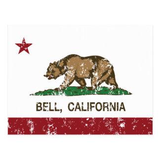 カリフォルニア州の旗鐘 ポストカード