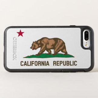 カリフォルニア州の旗 オッターボックスシンメトリーiPhone 8 PLUS/7 PLUSケース
