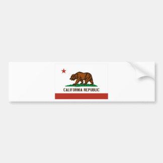 カリフォルニア州の旗 バンパーステッカー