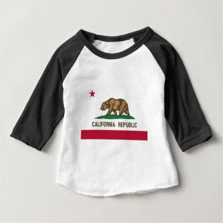 カリフォルニア州の旗 ベビーTシャツ