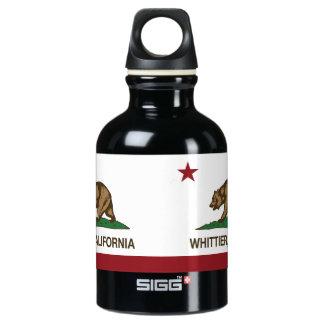 カリフォルニア州の旗Whittier ウォーターボトル