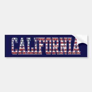 カリフォルニア愛国心が強いバンパーステッカー バンパーステッカー