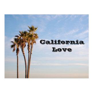 カリフォルニア愛|ヤシの木 ポストカード