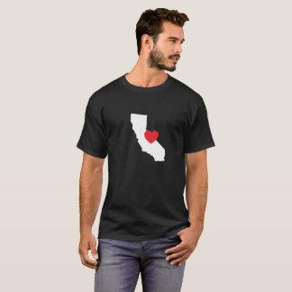 カリフォルニア愛Tシャツ|の黒 Tシャツ
